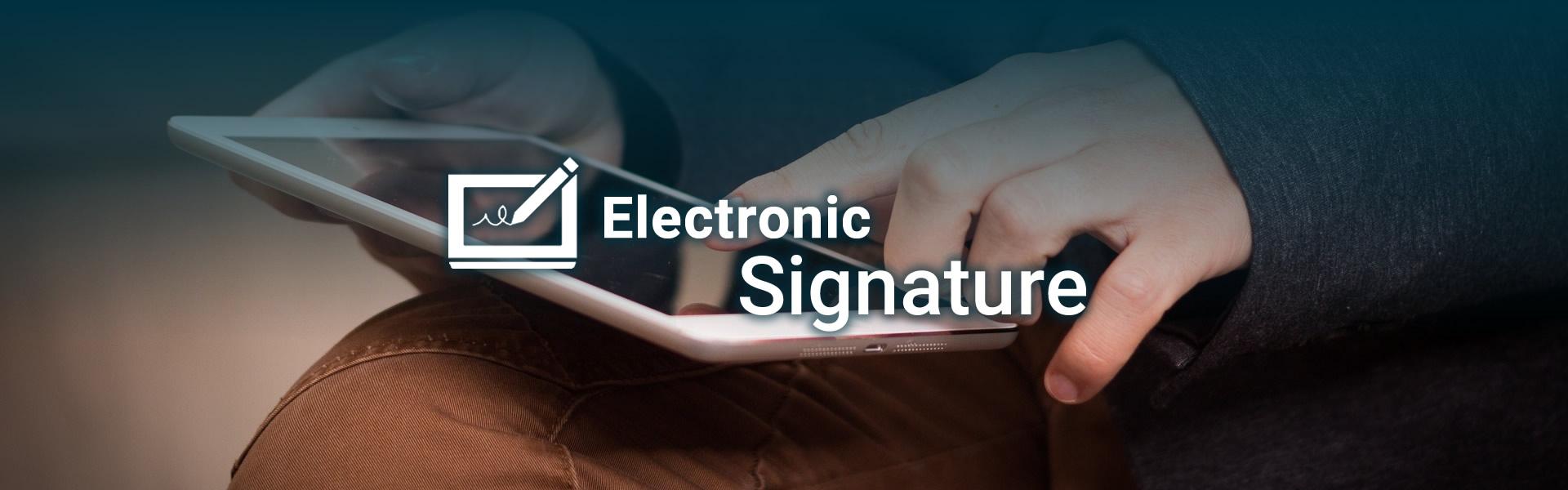 Electronic Signature Netco Signature